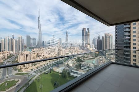 2 Bedroom Apartment for Sale in Downtown Dubai, Dubai - Most Stylish Interior | 2 BR Large Unit High Floor