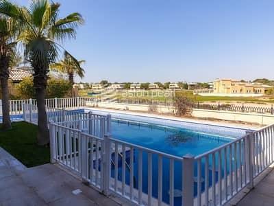 فیلا 6 غرف نوم للايجار في المرابع العربية، دبي - Vacant | Upgraded | Golf Course View |Private Pool