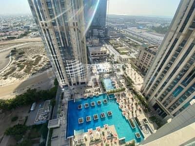 شقة 2 غرفة نوم للايجار في الخليج التجاري، دبي - High floor I 2BR Fully Furnished | Al Habtoor City