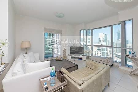 فلیٹ 2 غرفة نوم للبيع في وسط مدينة دبي، دبي - Fabulous View From Your Window