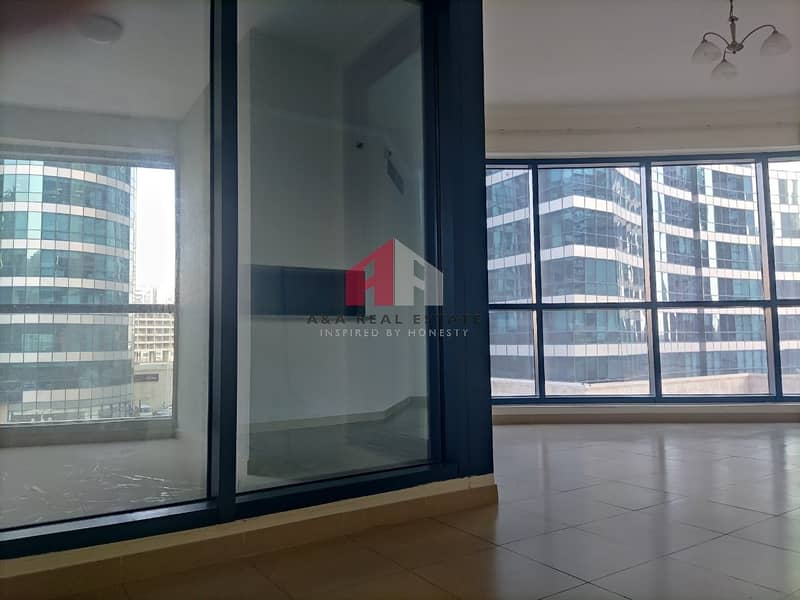 15 Semi-furnished! Chiller large 1-BHK for rent in X-1 Tower