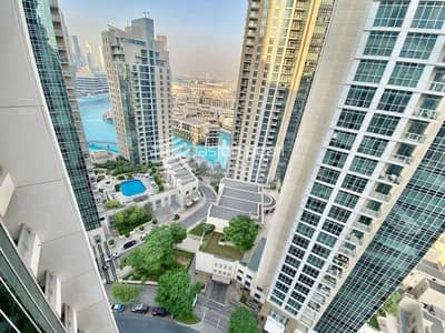 2 Bedroom Apartment for Sale in Downtown Dubai, Dubai - No Agents | Best Layout | 2 BR Apt. | Partial Lake