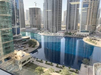 Office for Rent in Jumeirah Lake Towers (JLT), Dubai - Fitted Office With Lake View|Vacant From April 1st