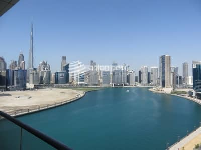 فلیٹ 1 غرفة نوم للايجار في الخليج التجاري، دبي - Duplex  1 BR  I Chiller and Gas Free | Canal View