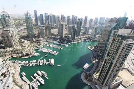 فلیٹ 2 غرفة نوم للبيع في دبي مارينا، دبي - Fantastic Marina View | Unfurnished | Balcony