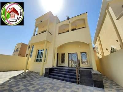 6 Bedroom Villa for Sale in Al Rawda, Ajman - Villa Corner Ajman for sale, personal finishing, ceramic, Spanish bathrooms, great location, without downpayment%