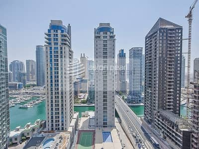 2 Bedroom Flat for Rent in Jumeirah Beach Residence (JBR), Dubai - Attractive Marina Style || 2 Bedroom in AMWAJ
