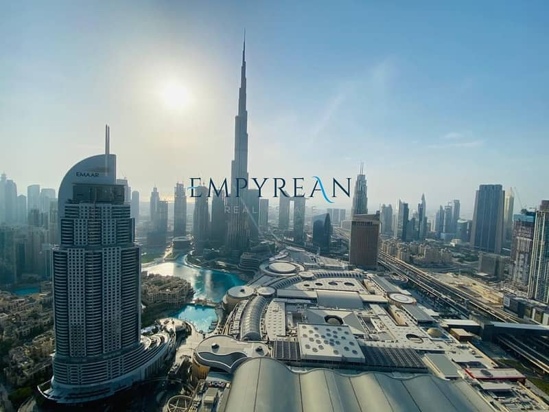 17 Sky Collection /Stunning Bur Khalifa-Fountain View/Fully Furnished
