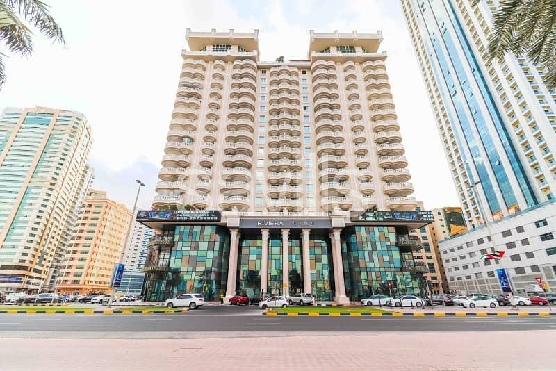29 Riviera luxurious apartment with full Al Buhairah view
