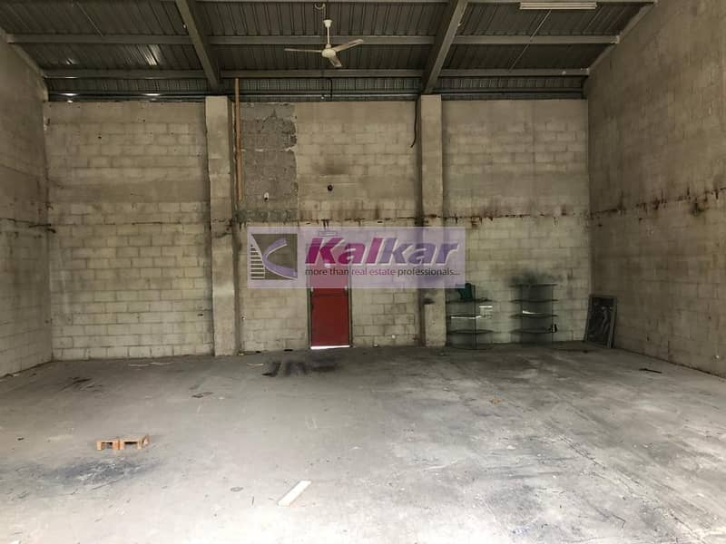 2 !! 1500 SQFT COMMERCIAL WAREHOUSE IN ALQUOZ AED:  45000/- !!