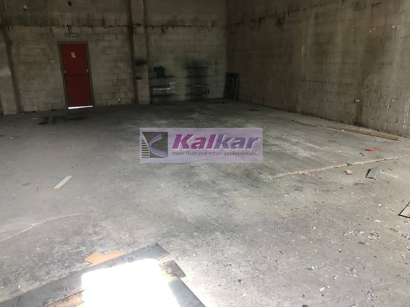 8 !! 1500 SQFT COMMERCIAL WAREHOUSE IN ALQUOZ AED:  45000/- !!