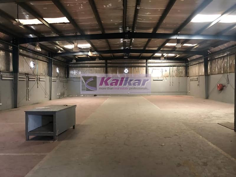 2 !! 30000 SQFT OPENLAND WITH WAREHOUSE IN ALQUOZ AED; 500 k !!