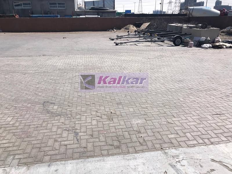 17 !! 30000 SQFT OPENLAND WITH WAREHOUSE IN ALQUOZ AED; 500 k !!