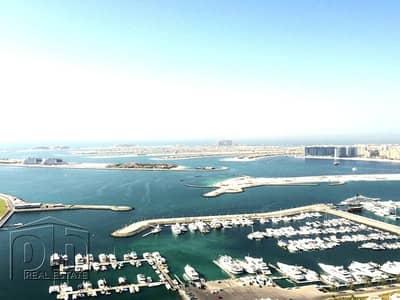 1 Bedroom Flat for Rent in Dubai Marina, Dubai - Fully Furnished | High Floor | Sea View