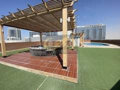 1 Bedroom, Balcony, 2 Washrooms, Semi Open Kitchen, GYM, Swimming Pool, Terrace Garden, Jacuzzi, Steam, Sauna,   @375K