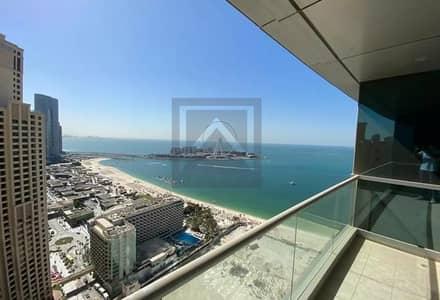 3 Bedroom Apartment for Rent in Jumeirah Beach Residence (JBR), Dubai - High Floor | Full Sea View | En-Suits Rooms