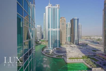 3 Bedroom Flat for Rent in Jumeirah Lake Towers (JLT), Dubai - Large Balcony High Rise Spacious Laguna