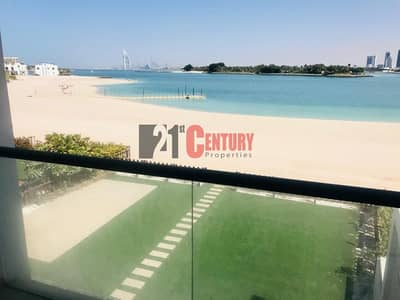 5 Bedroom Townhouse for Rent in Palm Jumeirah, Dubai - OVERLOOKING VIEW OF SEA & BEACH 5 BR TOWNHOUSE