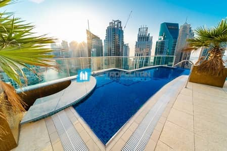 4 Bedroom Penthouse for Sale in Dubai Marina, Dubai - Fully Upgraded and Furnished 4BR PH W/ Marina View