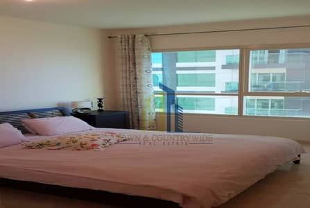1 Bedroom Flat for Sale in Al Reem Island, Abu Dhabi - Soon to be Vacant! Partial Sea View in Balcony!