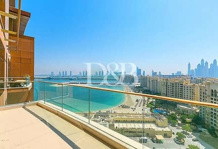 2 Bedroom Penthouse for Rent in Palm Jumeirah, Dubai - Large C Type Unit | Sea View | High Floor