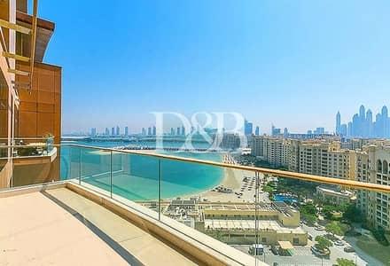 بنتهاوس 2 غرفة نوم للايجار في نخلة جميرا، دبي - Large C Type Unit | Sea View | High Floor