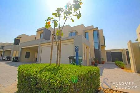 فیلا 4 غرف نوم للبيع في قرية جميرا الدائرية، دبي - Type 2E | Single Row | Close the Greens