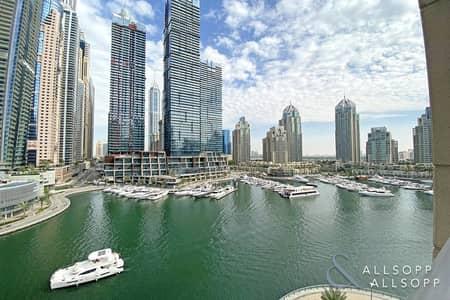 1 Bedroom Flat for Sale in Dubai Marina, Dubai - Full Marina Views | Mid Floor | 1 Bedroom