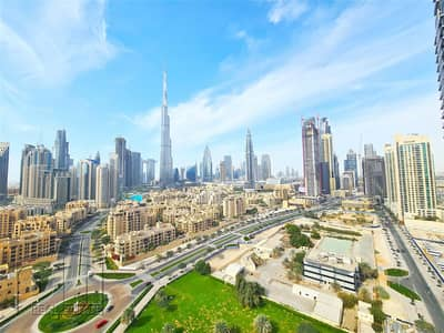 2 Bedroom Flat for Rent in Downtown Dubai, Dubai - Burj Khalifa Views | Vacant | Spacious