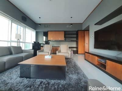 شقة 2 غرفة نوم للايجار في دبي مارينا، دبي - Upgraded Interiors | High Floor | Near Tram