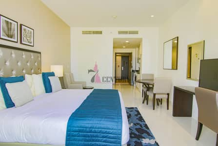 Studio for Rent in Dubai World Central, Dubai - Big Space | With Balcony | Furnished Studio Apt