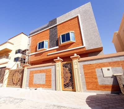 5 Bedroom Villa for Sale in Al Helio, Ajman - With comfortable banking installments, a modern style villa owns a large building area and a great location