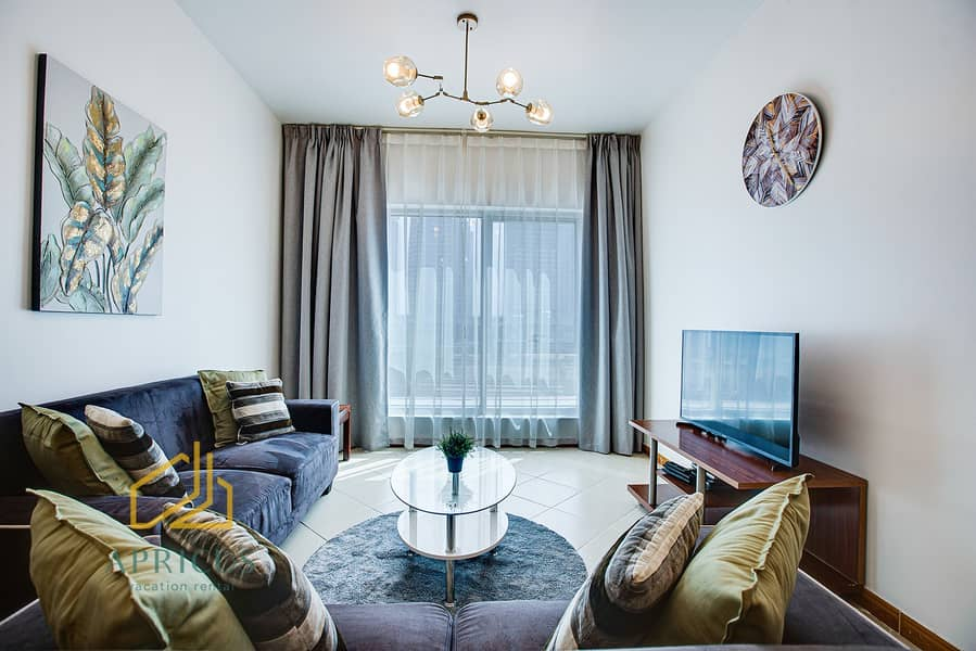 New Furnished 1bed Apartment near Metro