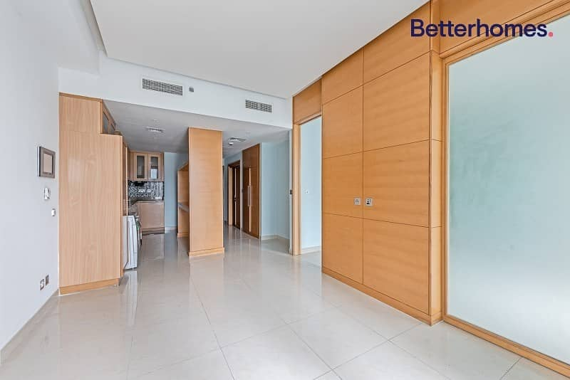 Balcony | Converted to 1 BR| Fitted Kitchen | Rented