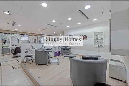 Shop for Sale in Jumeirah Lake Towers (JLT), Dubai - Fully Fitted Salon l Spacious Shop l Ground Floor