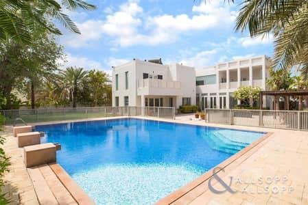 فیلا 6 غرف نوم للبيع في تلال الإمارات، دبي - Upgraded | Six Bedrooms | Large Plot l