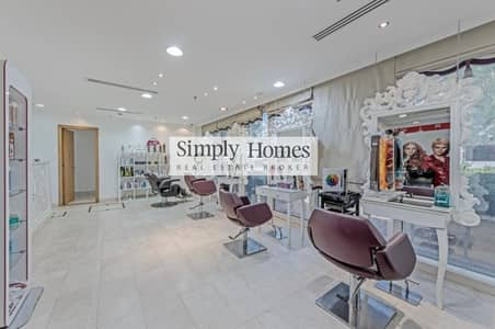 Shop for Rent in Jumeirah Lake Towers (JLT), Dubai - Fully Fitted Salon l Spacious Shop l Ground Floor