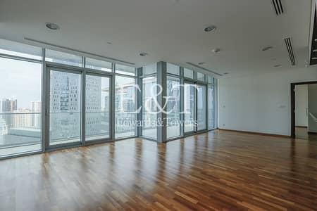 شقة 3 غرف نوم للبيع في مركز دبي المالي العالمي، دبي - DIFC and Sea Views | Mid Floor | Vacant