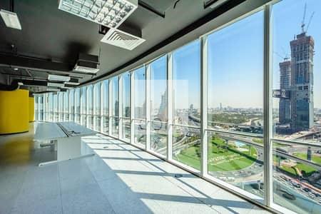 طابق تجاري  للايجار في شارع الشيخ زايد، دبي - Full Floor | Fully Fitted Space | 13 Parking