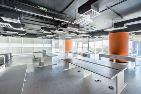 طابق تجاري  للايجار في شارع الشيخ زايد، دبي - Readily Available | Full Floor | DED License