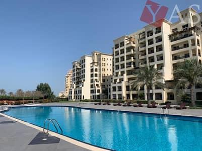 Studio for Sale in Al Hamra Village, Ras Al Khaimah - Spacious | Yacht Club View | Ground Floor