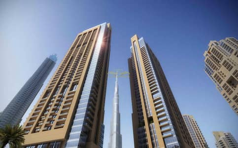 1 Bedroom Flat for Sale in Downtown Dubai, Dubai - OFF PLAN | AMAZING BURJ KHALIFA  VIEW | 1 BR  | SECONDARY UNIT