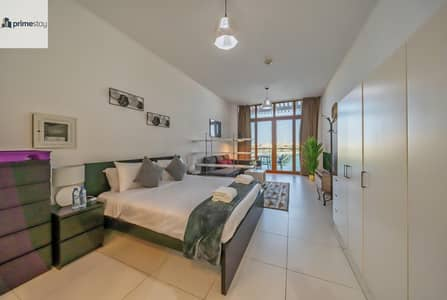 Studio for Rent in Palm Jumeirah, Dubai - Gorgeous Sea View Studio in Palm Views