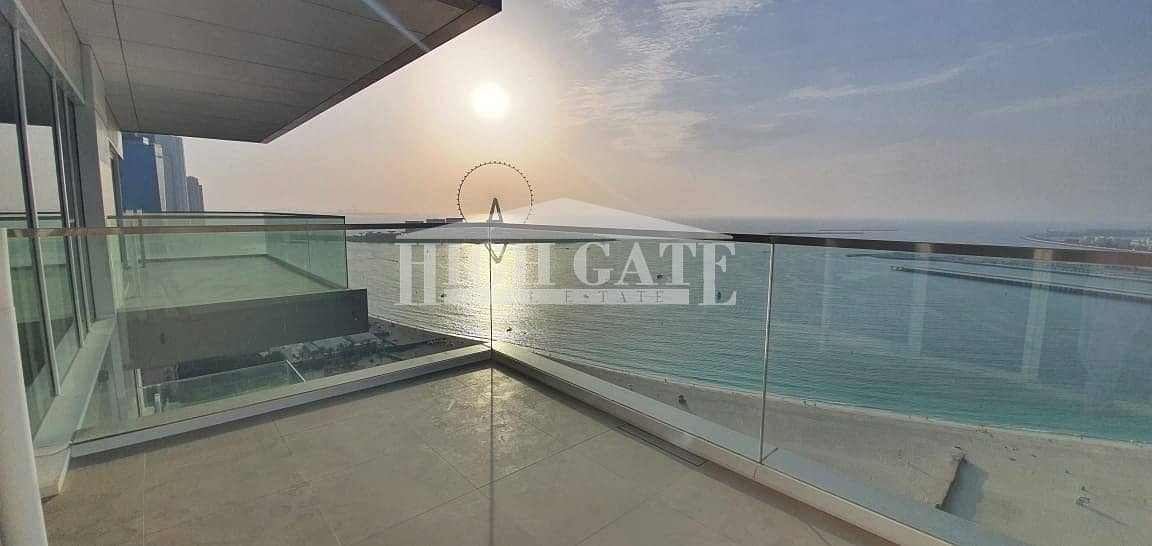 2 STUNNNING FULL SEA VIEW | 3BR APT in JBR