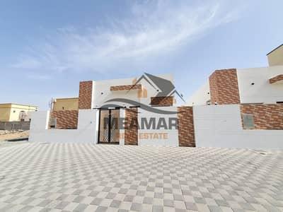 فیلا 3 غرف نوم للبيع في الحليو، عجمان - فيلا تملك حر بتشطيب ممتاز علي ش رئيسي بجانب مسجد في منطقه الحليو .