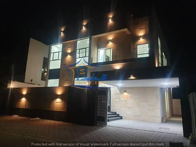 5 Bedroom Villa for Sale in Al Yasmeen, Ajman - Modern villa for sale Luxurious European design And finishes with high presence The most prestigious sites and close to all services in Ajman And all banking facilities