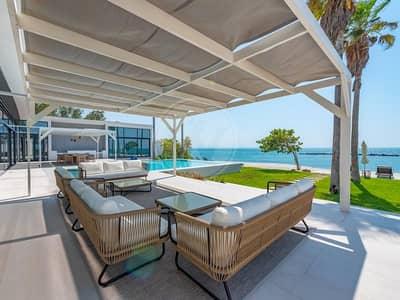فیلا 7 غرف نوم للبيع في جزيرة نوراي، أبوظبي - V Private Beachfront Estate - Largest/Most Private