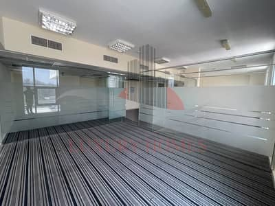 Office for Rent in Al Murabaa, Al Ain - Semi Fitted Space with Glass Partition