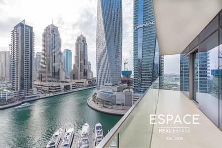3 Bedroom Apartment for Sale in Dubai Marina, Dubai - Exclusive 3 Bed | Full Marina View | Vacant