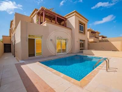 5 Bedroom Villa for Sale in Al Raha Golf Gardens, Abu Dhabi - Huge size villa | Private pool | Private garden